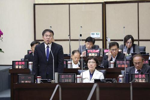 台南市政府:農產運銷自治條例將於補正後再提交