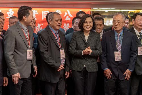 總統蔡英文出席機車同業公會聯誼餐會