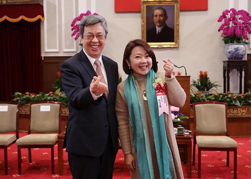 副總統陳建仁接見建築金石獎獲獎