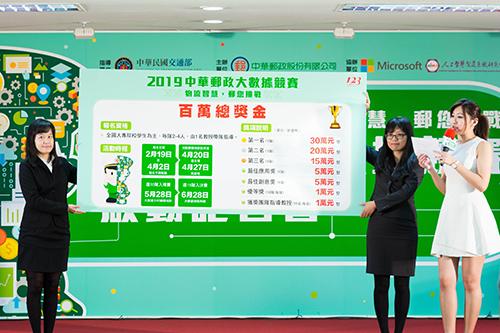 2019中華郵政大數據競賽 歡迎挑戰智慧物流創新應用