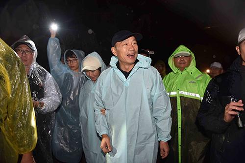 外星人草地音樂會 高雄市長韓國瑜靜心聆賞