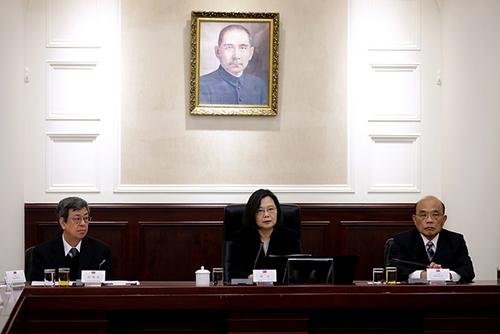 總統蔡英文召開國家安全會議