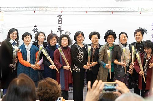 政務次長范巽綠出席「女人屐痕III 」新書發表會