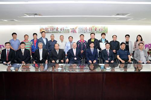 韓國仁川廣域市獸醫師會訪台南 互助交流