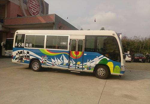 澎湖縣小海豚市區巡迴公車 預計4月1日起啟動