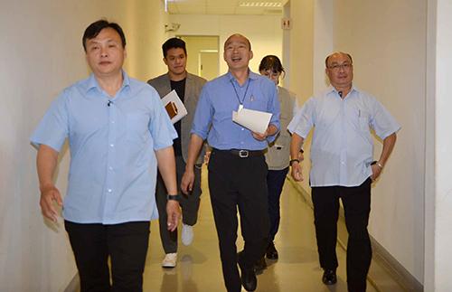 高雄市長韓國瑜主持道安會報 盼實踐交通禮讓尊重