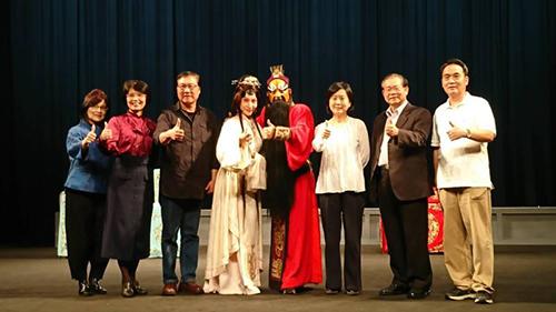台灣京崑劇團《良將與惡魔:雙面吳起》大合照