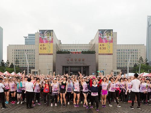 台新女子路跑 逾1.5萬人呼應「認真的女人最美麗」