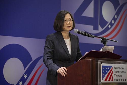 總統蔡英文慶賀《台灣關係法》立法四十週年