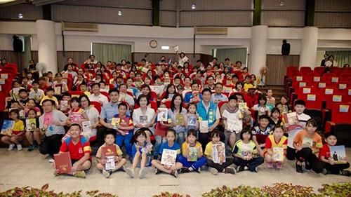 宜蘭縣舉辦「世界閱讀日-閱讀達人」表揚活動