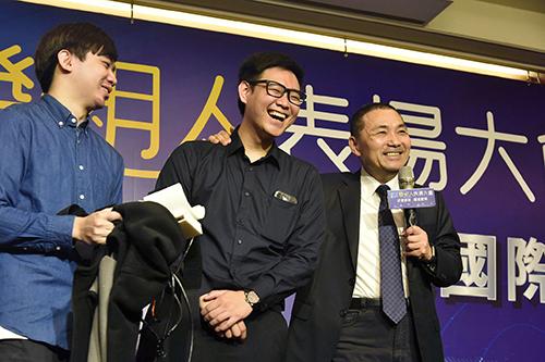 新北市長侯友宜表揚新北發明人 期許帶動產業發展