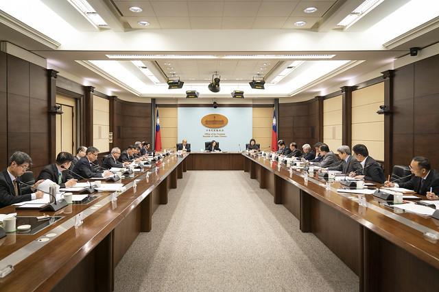 總統主持「國安高層會議會後記者會」
