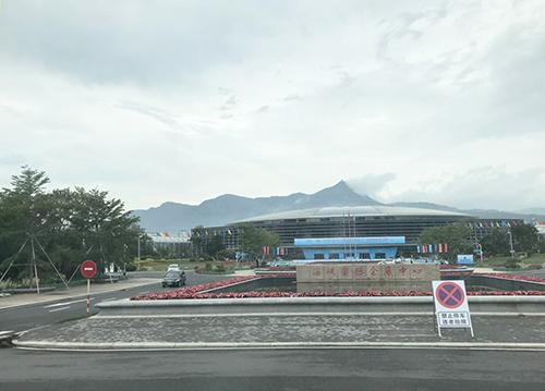 海峽國際會展中心(張文寧攝)