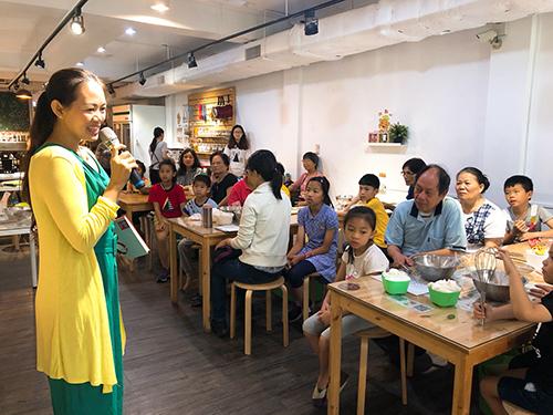 祖孫烤箱讀書會-台中市家庭教育中心提供
