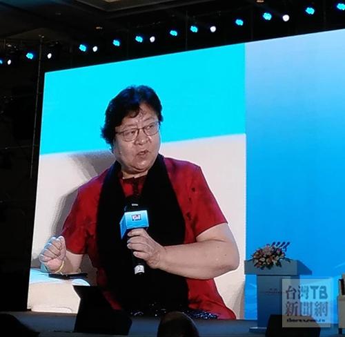 中國銀行副行長張燕玲(張汶寧攝)