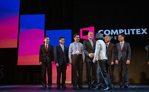 總統蔡英文:促進台灣未來數位發展