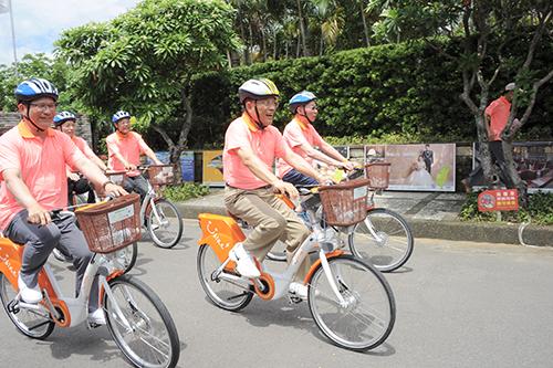 行政院長蘇貞昌出席「世界自行車日」活動