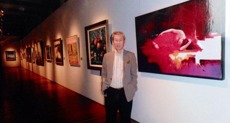 國際藝術家「梁君午」2010應邀參加「光華百年-世界華人慶世博美術大展」