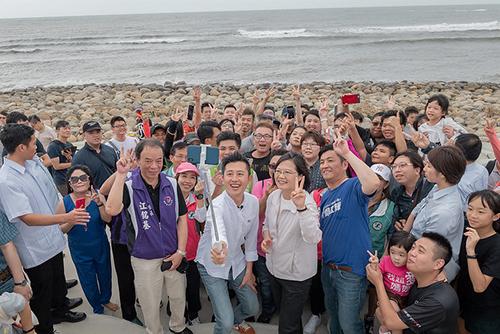 總統蔡英文:共同守護得來不易的改革成果