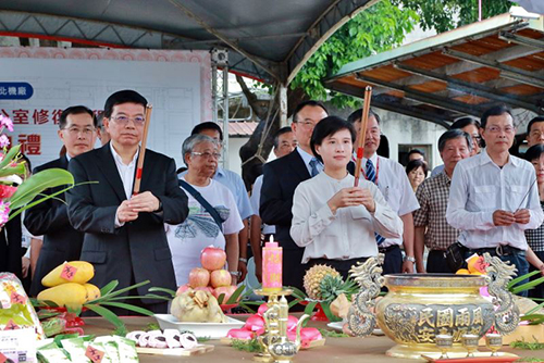 鄭麗君:台北機廠總辦公室及員工澡堂修復啟動