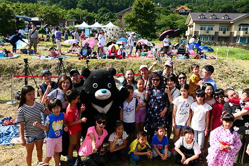 2019竹子湖繡球花季野餐音樂會超過300位民眾聆樂