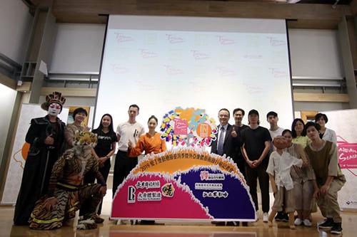 文化部次長蕭宗煌出席行前記者會為演出團隊打氣