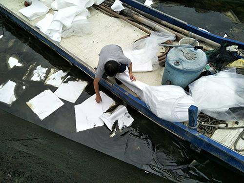 雲林縣口湖鄉加油站漏油 環保局啟動緊急應變