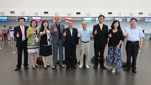 台中-昆明直航定期航班首航 促進兩地交流
