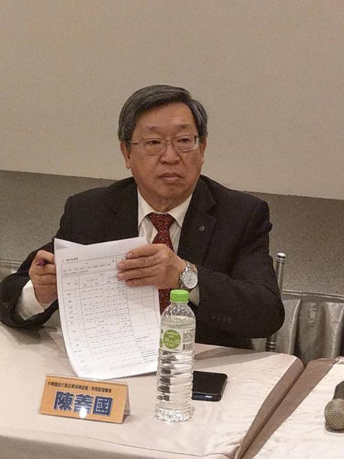 品保協會副理事長陳善國