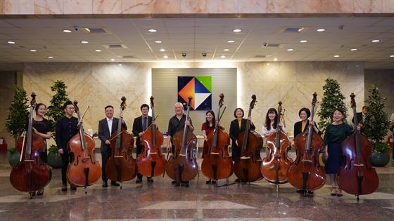 開發金控員工與國家交響樂團大師合奏,讓藝文與員工零距離