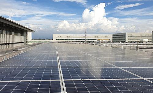 華航園區設置太陽光電 行動支持台灣綠能發展