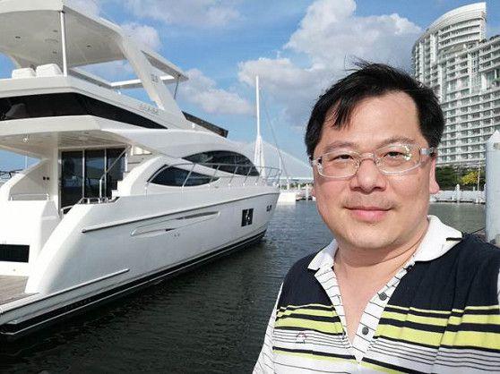 氫淼科技董事長黃文啓博士,整合集團資源與嘉信集團合作,共同開發節能船、電動船、無人船。