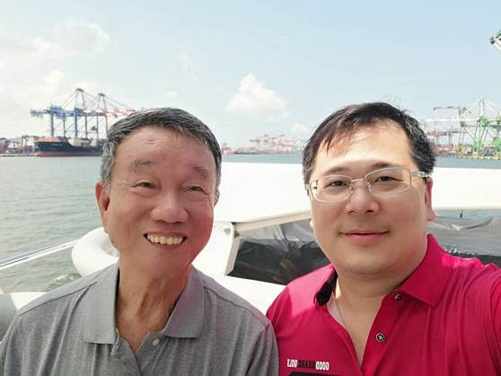 嘉信集團創辦人龔上杰與氫淼科技負責人黃文啓博士