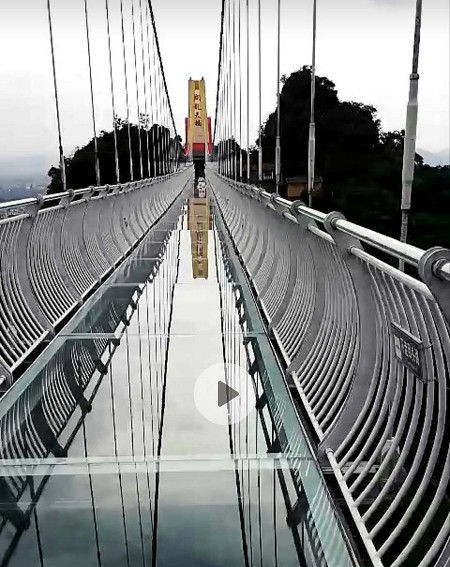 高空飛龍玻璃橋