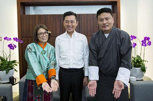 與幸福國度相遇 市長林智堅與不丹夫婦談幸福學