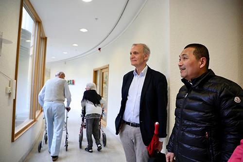 汲取社福經驗 新北市長侯友宜訪瑞典老人照護中心