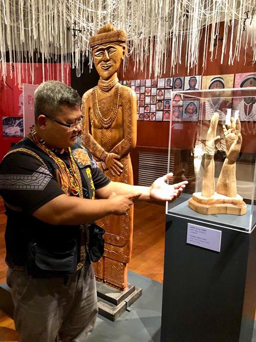 台博館赴泰展出台灣原住民刺紋文化