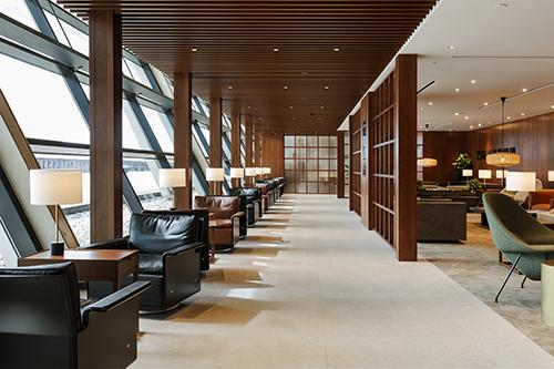 國泰上海浦東機場貴賓室 7月18日重新開幕