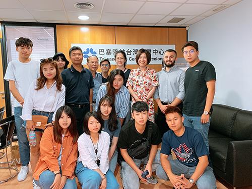 南華大學獲學海築夢計畫補助,帶領學生深度學習歐洲文化,並參訪巴塞隆納台灣貿易中心。