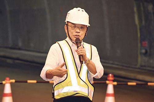 行政院長蘇貞昌盼蘇花改如期如質完工