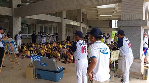 台東「棒球FUN電營」開打 國手教練與學童FUN一夏