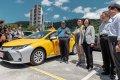 總統蔡英文期許計程車成為社會安全網一部分