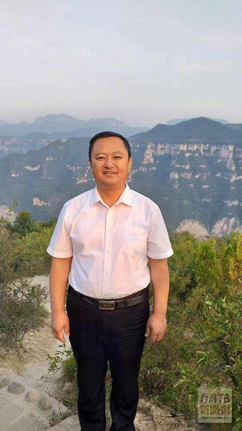 平順縣文物旅遊局長李節東(張汶寧攝)