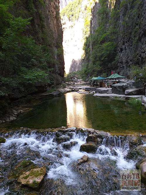 八泉峽景區(張汶寧攝)