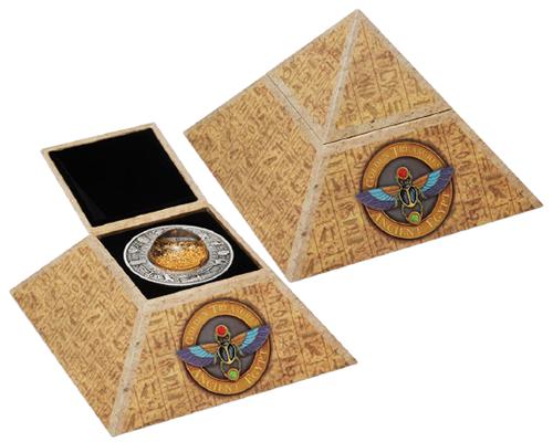 古埃及金色寶藏2英兩仿古銀幣,耀眼登場!