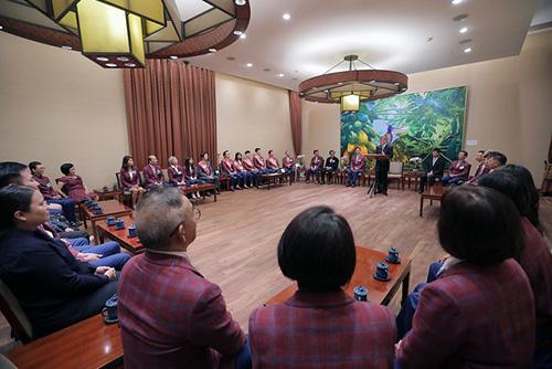副總統陳建仁:台灣洋服產業已站穩國際領先地位