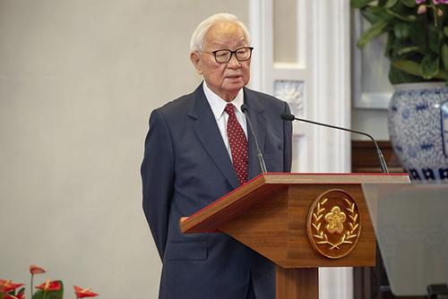 張忠謀擔任APEC經濟領袖會議我國領袖代表