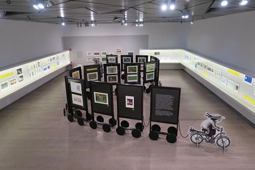 西班牙ABC美術館(Museo ABC)舉辦幾米特展