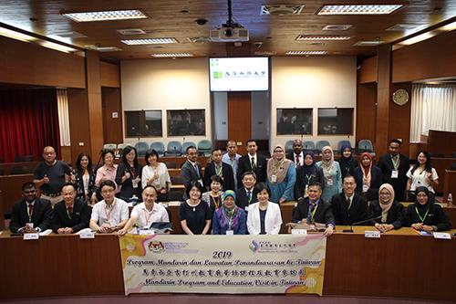 馬來西亞吉打州官員首次來台,學華語遊台灣