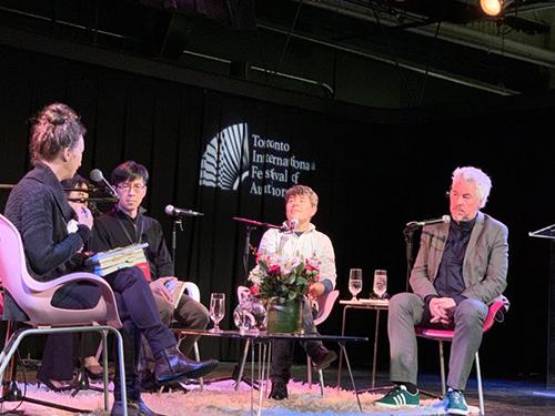 台灣作家何致和《花街樹屋》赴多倫多國際作家節交流